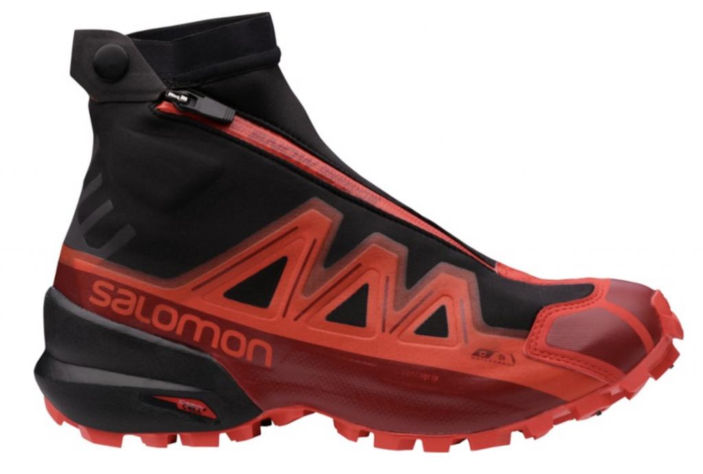 best winter running shoes solomon spikecross gtx trail running shoe