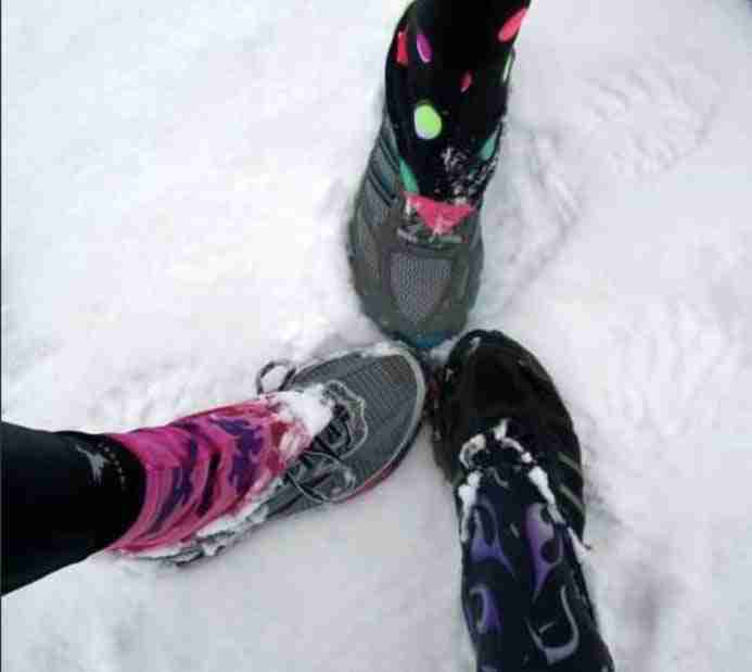 Dirty Girl Gaiters accessories for running