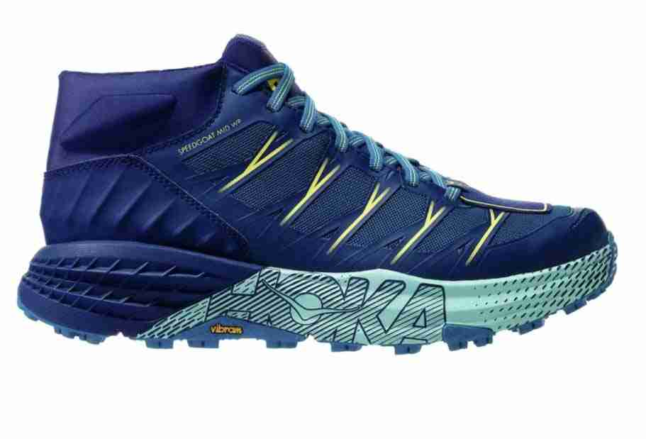 hoka oneone speedgoat shoes for running in cold weather