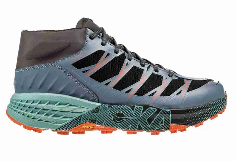 hoka oneone speedgoat wp trail running shoes for cold weather