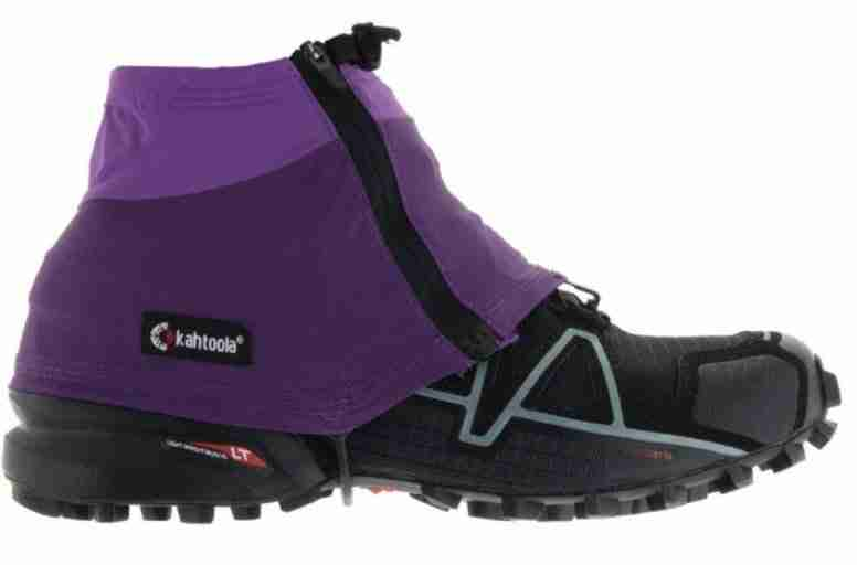 kahtoola INSTAgainter low gaiters for trail running in the cold
