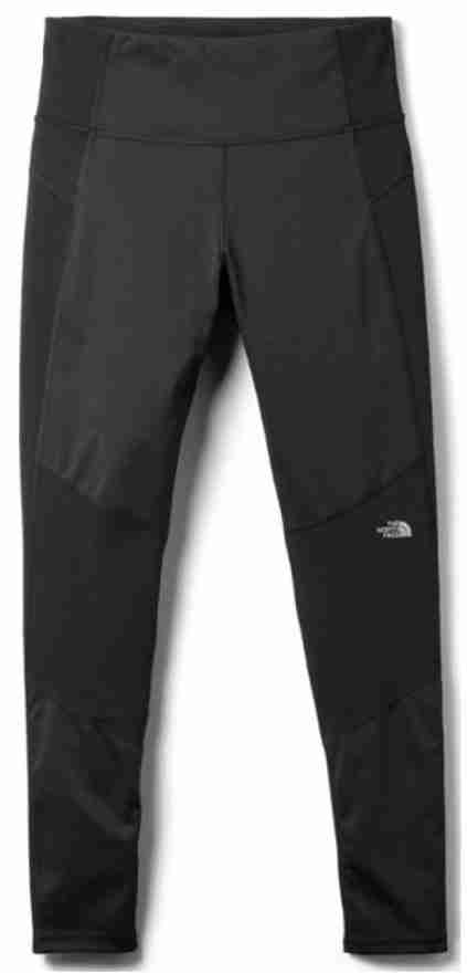 the northface winter warm high rise winter wall tights