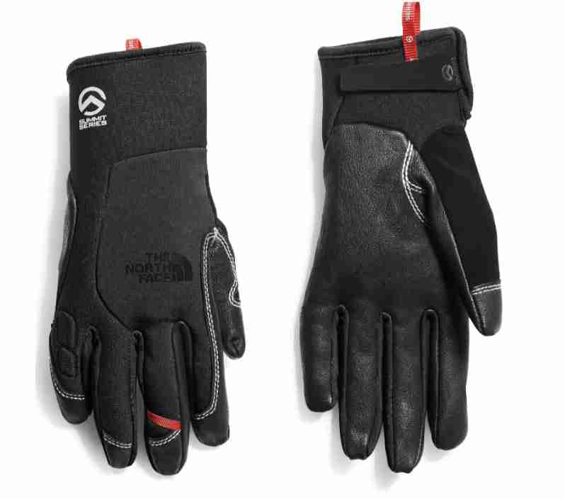 the north face summit g4 soft shell running gloves