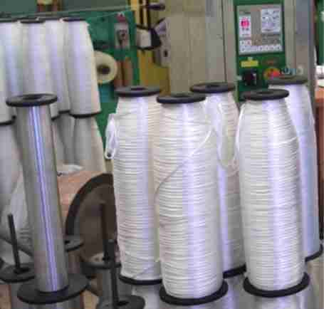 nylon rope core packages ready for autoclave