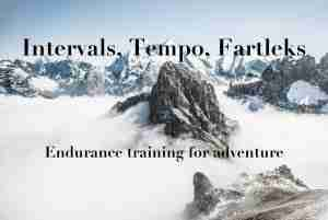 Interval Training For The Outdoors