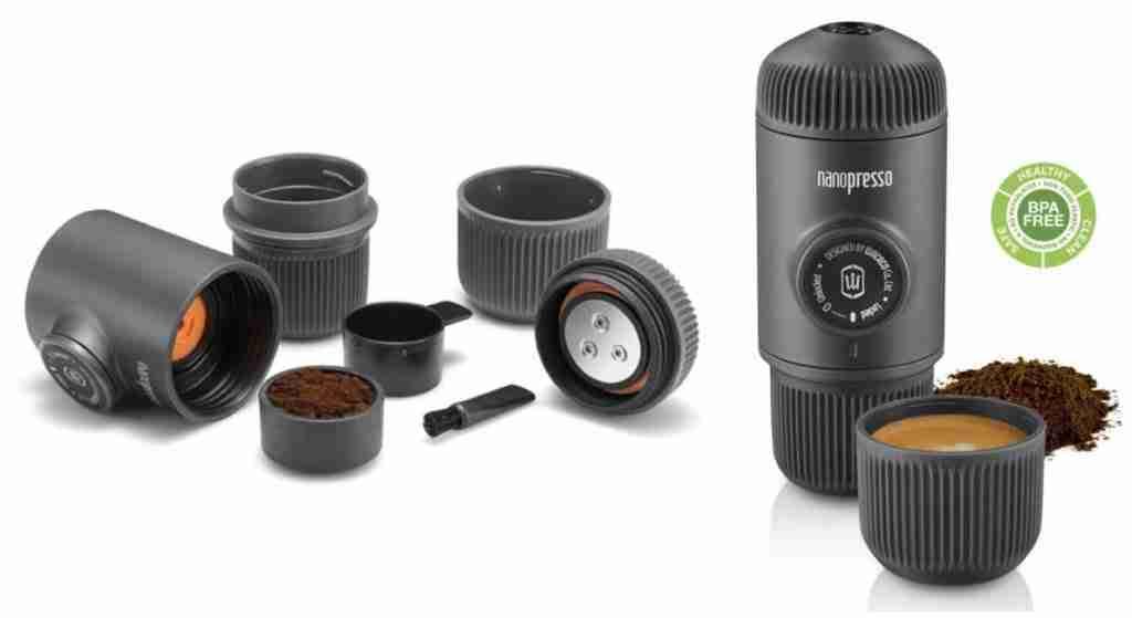 nanopresso by wacaco portable espresso maker components