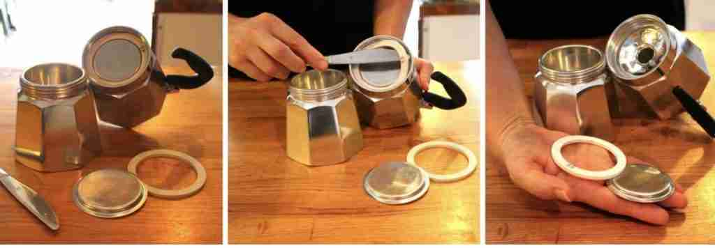 stovetop espresso maker gasket seal replacement