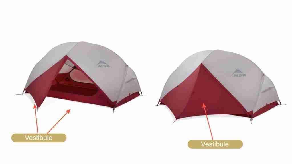 Choose A Tent With A Vestibule