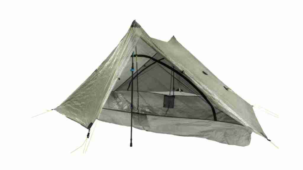 Zpack single wall non-freestanding tent