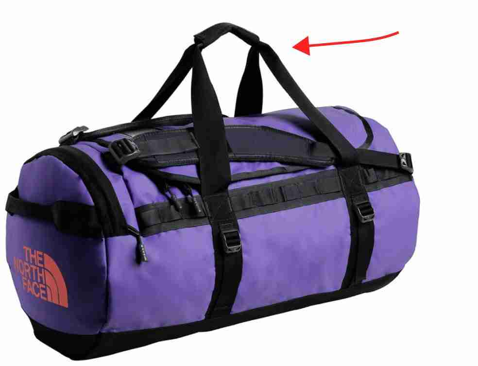 Carry Handles On Travel Duffel Bag