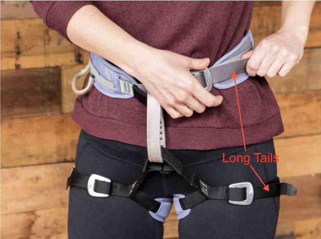 How To Size A Climbing Harness Waistbelt