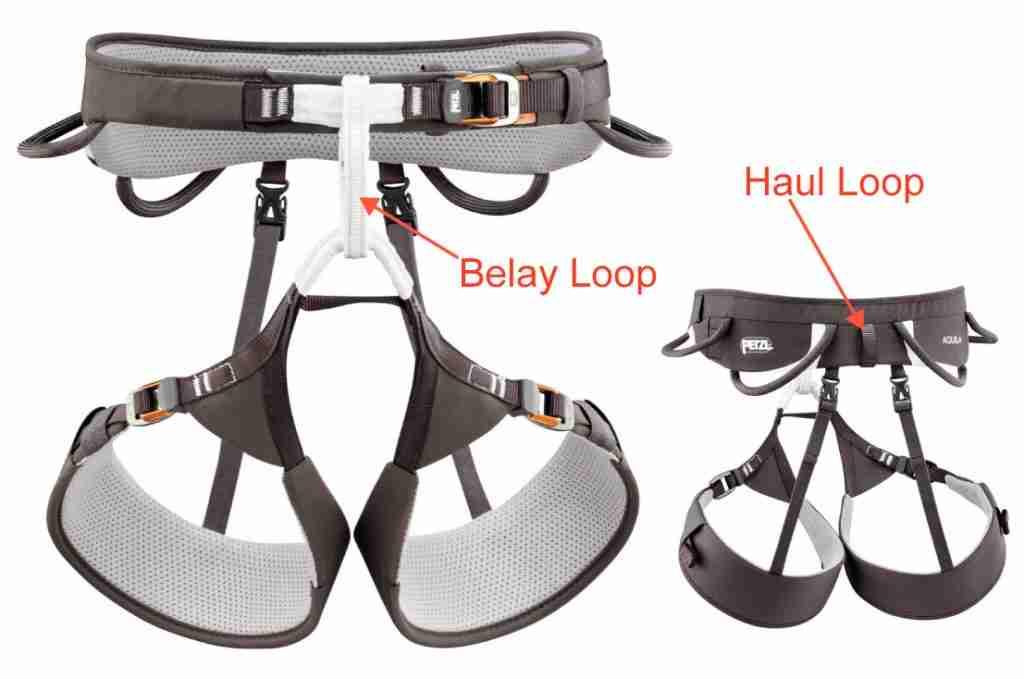 Haul Loop vs Belay Loop On Petzl Aquila Harness