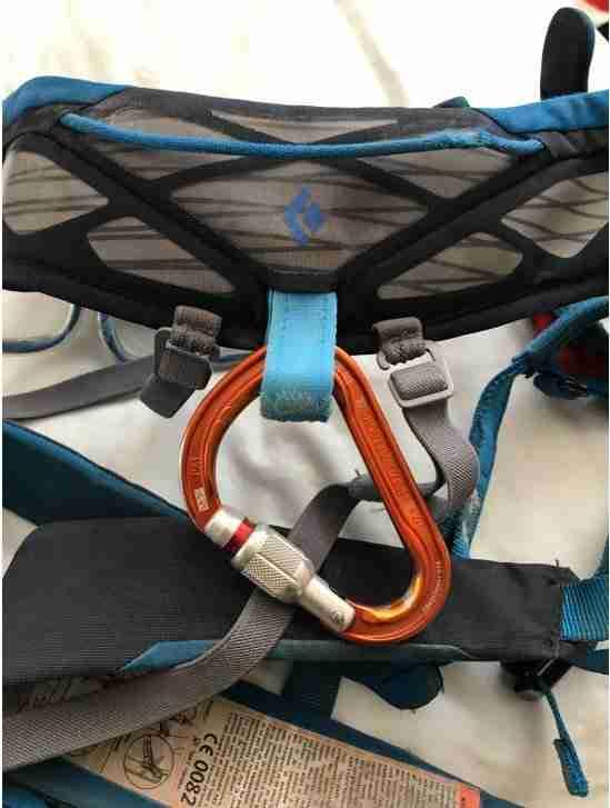 Haul Loop On Black Diamond Aspect Harness