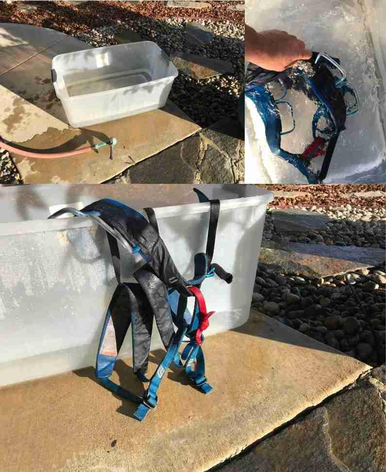 Washing A Climbing Harness