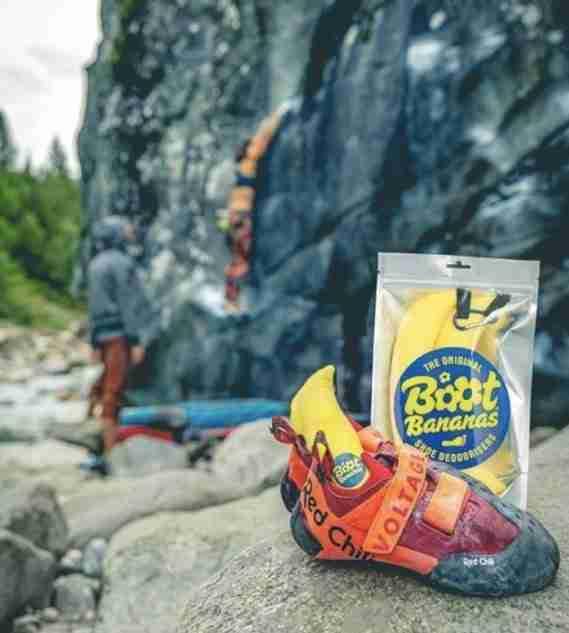 Boot Bananas For Deodorizing Climbing Shoes