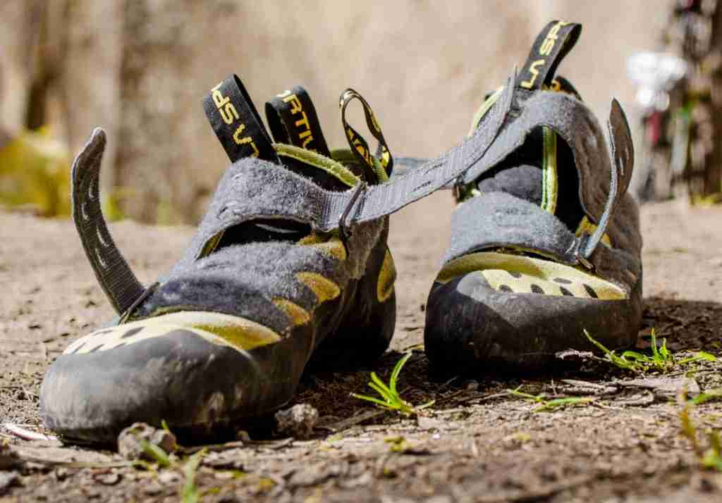 Smelly Climbing Shoes