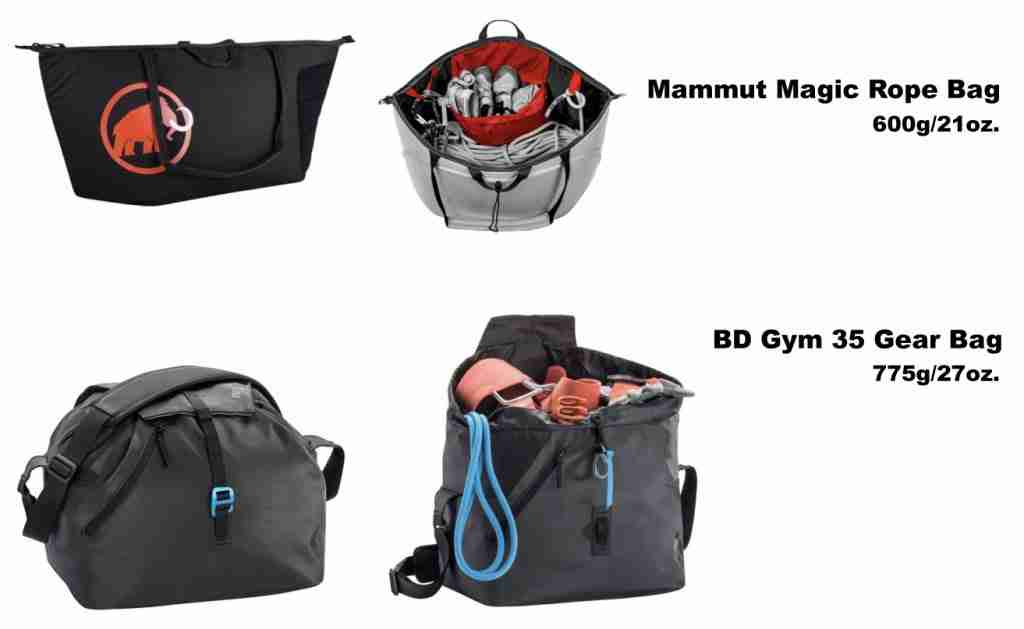 Climbing Rope Bags For Gym Climbing