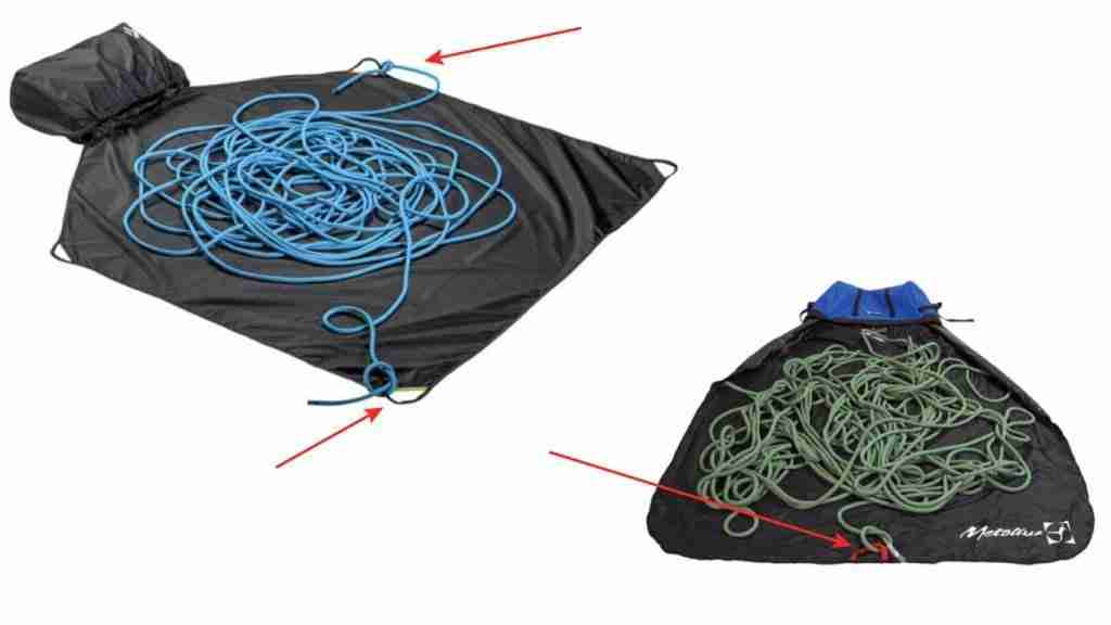 Climbing Rope Bags With Tie-In Points