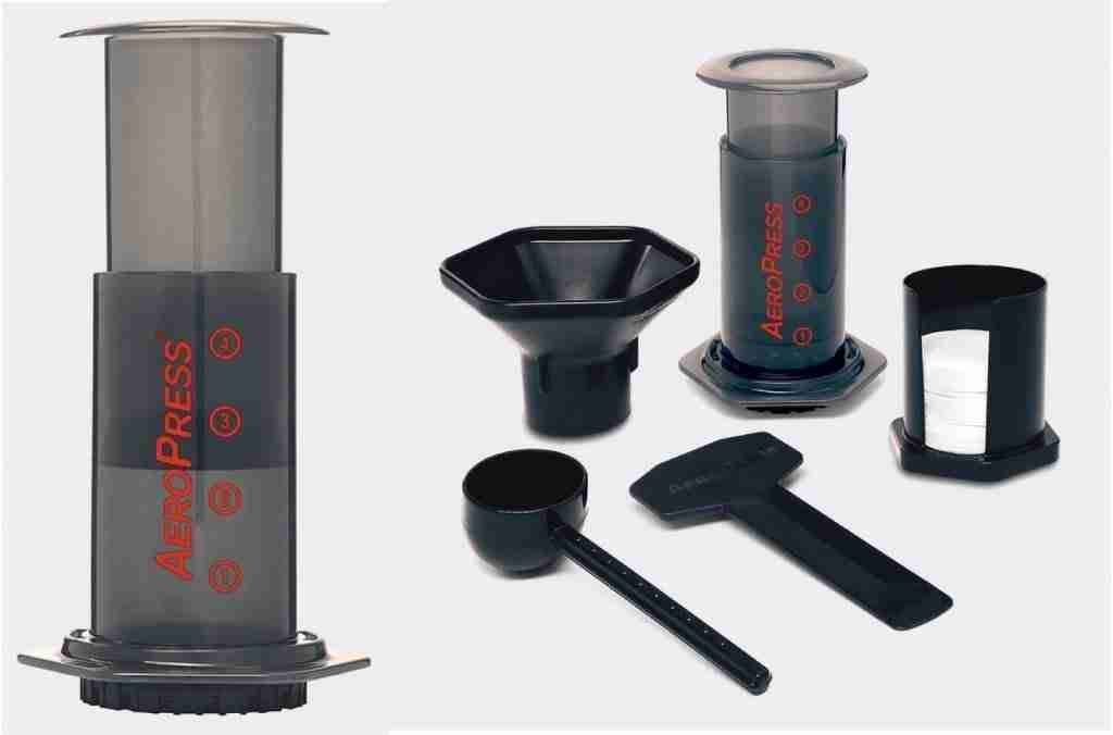 AeroPress Coffee Maker For Camping And Backpacking