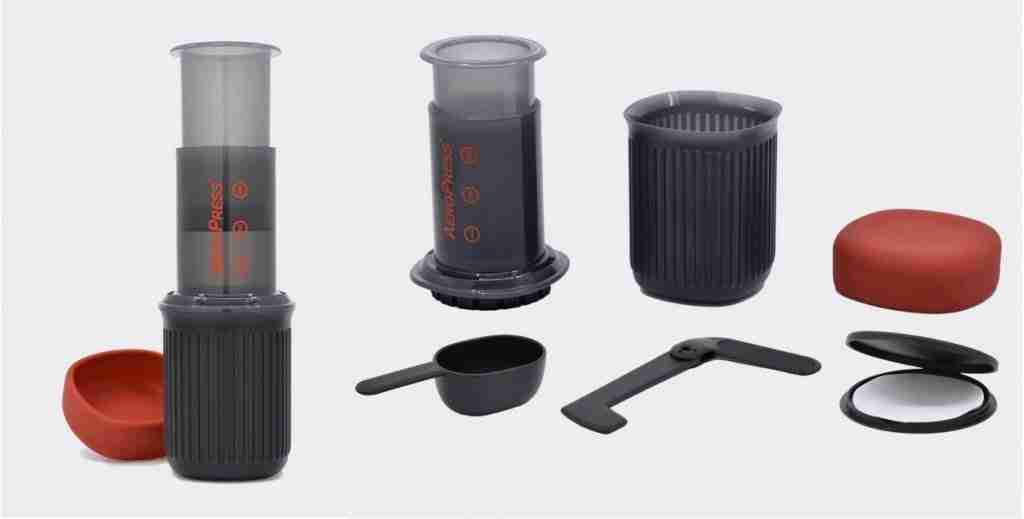 AeroPress Travel Coffee Maker For Camping