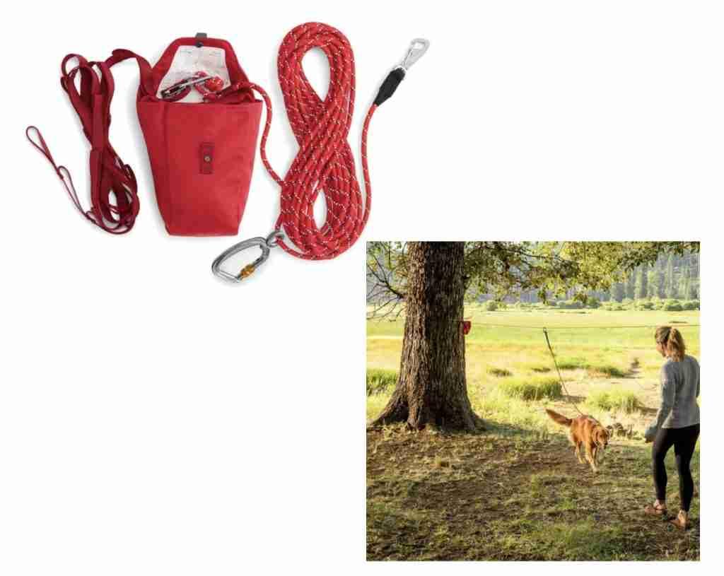 Ruffwear Knot A Hitch Dog Run For Camping