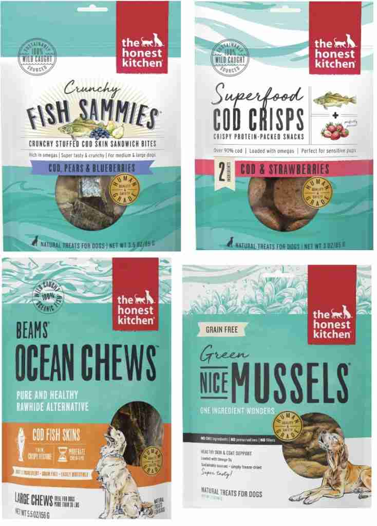 Seafood Dog Treats For Hiking With A Dog