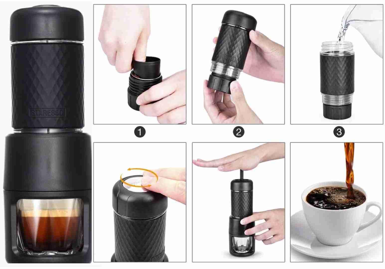 Staresso Portable Espresso Maker For Camping - Crux Range