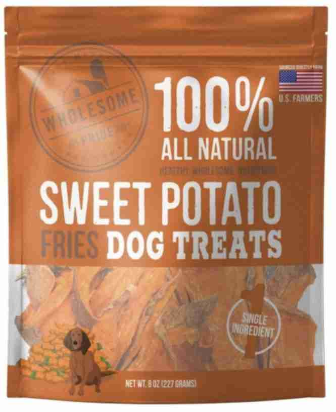 Wholesome Pride Sweet Potato Dog Treats For Backpacking