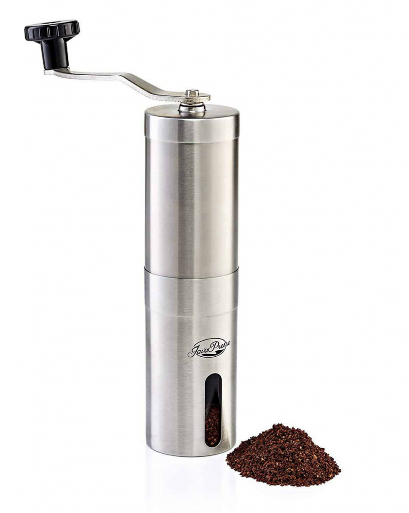 Java Presse Manual Coffee Grinder For Camping And Backpacking