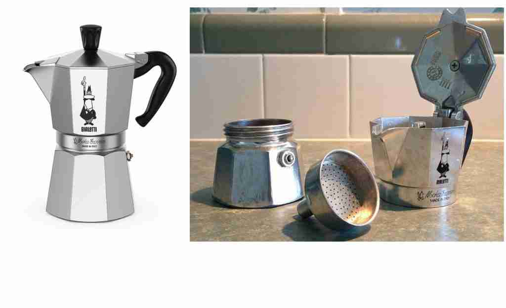Bialettie Moka Express Portable Expresso And Coffee Maker For Camping