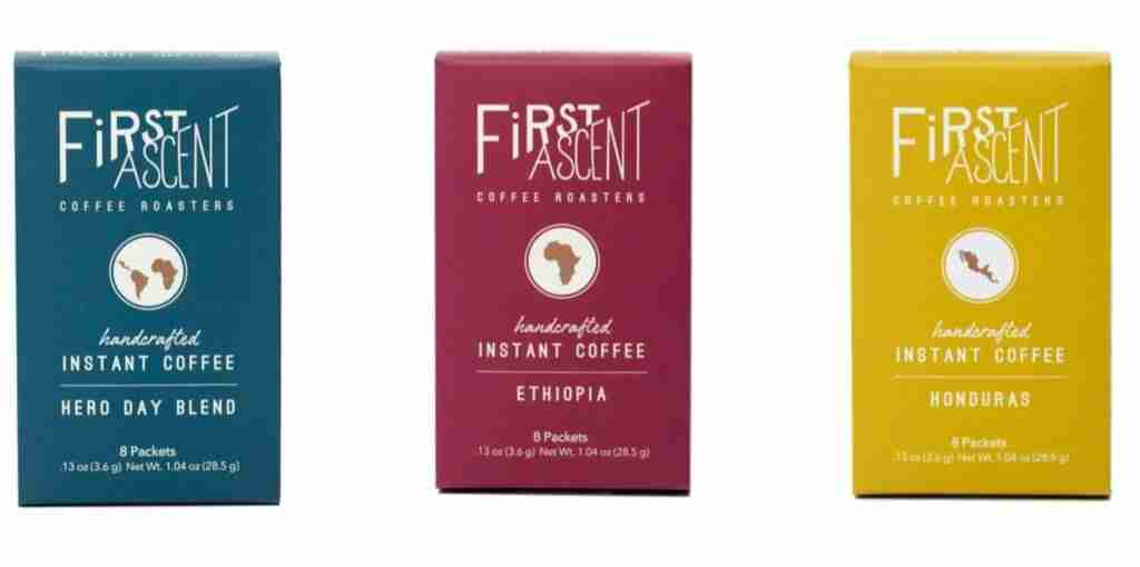 First Ascent Instant Coffee For Camping And Backpacking