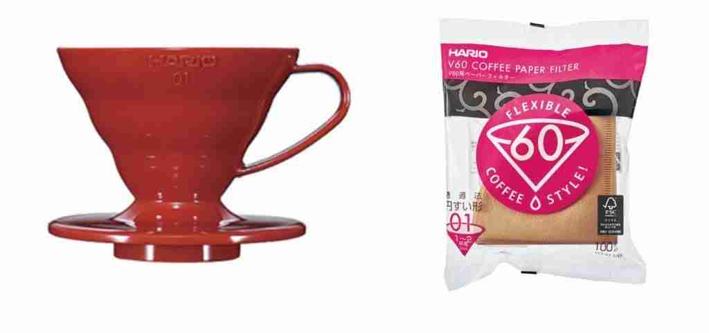 Hario V60 Plastic Coffee Dripper For Camping