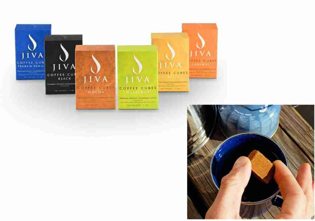 Jiva Cubes Instant Coffee For Camping And Backpacking