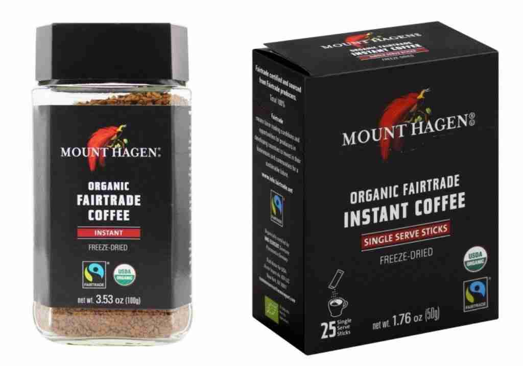 Mount Hagan Instant Coffee For Camping