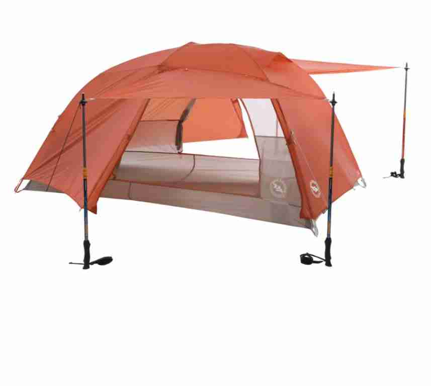 Big Agnes Copper Spur 2 Backpacking Tent with Two Doors and Vestibules