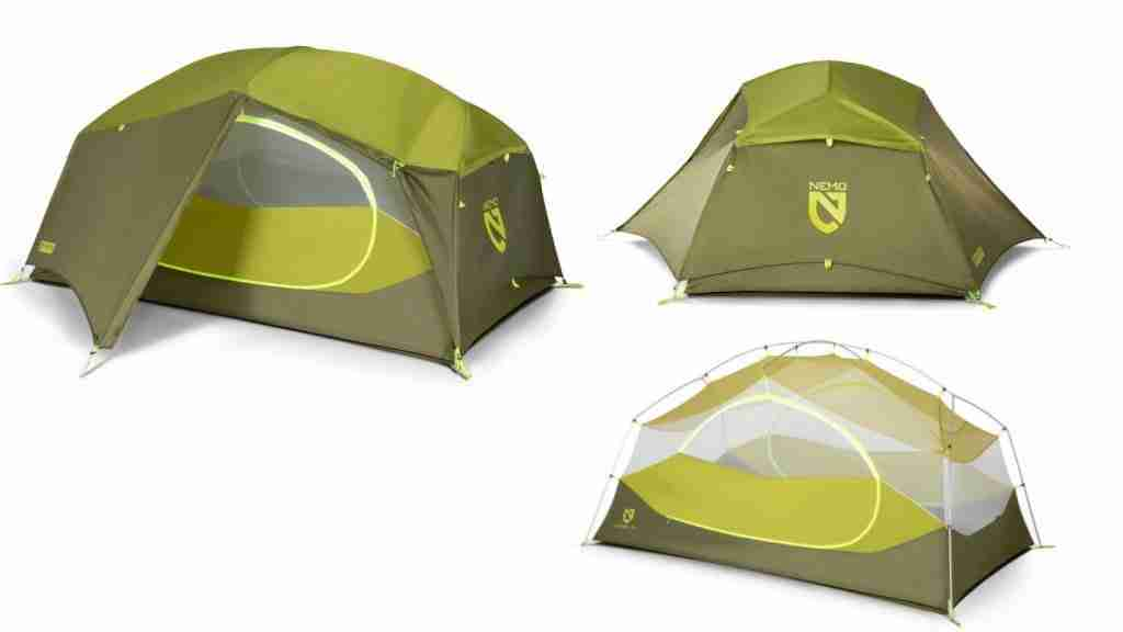 Nemo Aurora Budget Backpacking Tent Under $300