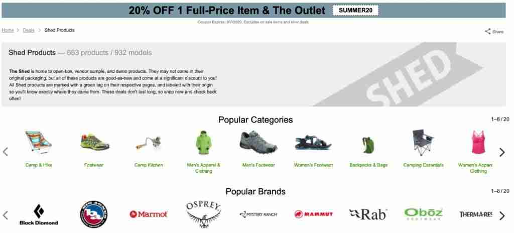 Campsaver Shed Discount Outdoor Gear
