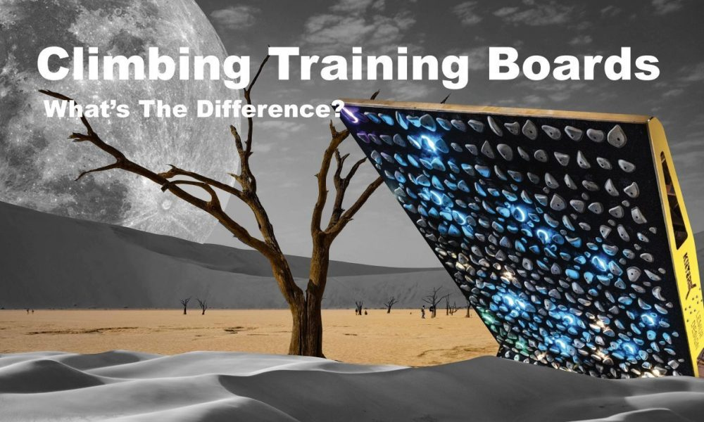 What's The Difference Between Types Of Climbing Training Boards